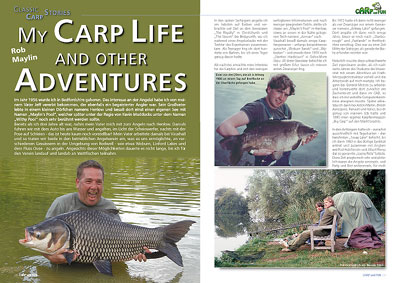 MY CARP LIFE AND OTHER ADVENTURES